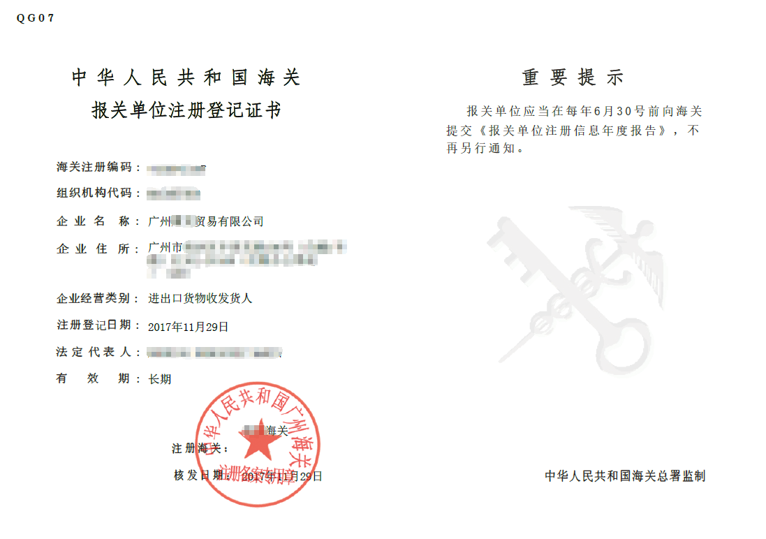 Import Export License 2